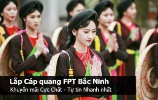 Lắp mạng cáp quang fpt Bắc Ninh