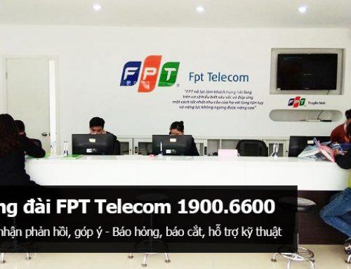 Địa điểm, quầy giao dịch của FPT Telecom trên toàn quốc
