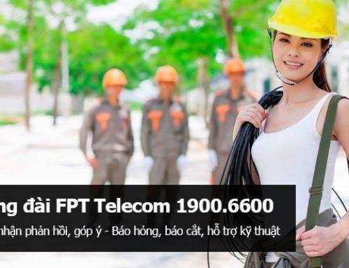 Số điện thoại Hỗ trợ kỹ thuật FPT Telecom