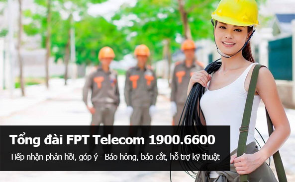 Hotline hỗ trợ kỹ thuật FPT