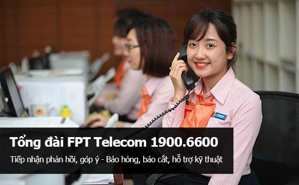 Số điện thoại tổng đài FPT Telecom - Hotline FPT