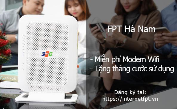 Lắp đặt mạng cáp quang FPT tại Hà Nam ưu đãi hấp dẫn